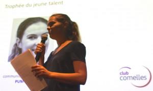 Charlotte Camoin, Trophée du jeune talent