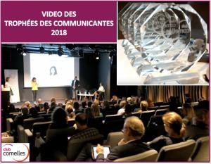Trophées des communicantes Club Comelles 2018